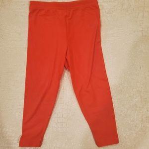 4for$20!! Carter's leggings (coral) 18m